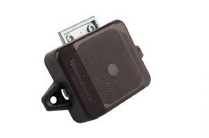 1 Sided Push Button Lock (Nickel)