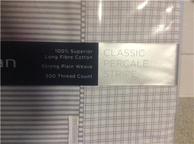 SHERIDAN CAFFERY QUEEN SHEET SET GREY 300 TC