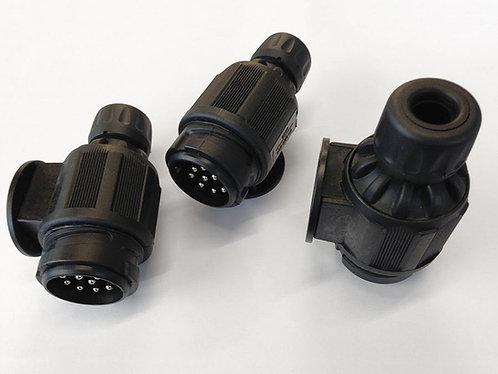Pennine Black 13 Pin Plug
