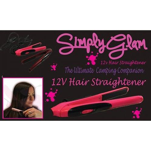 Simply Glam Hair Straightner 12V