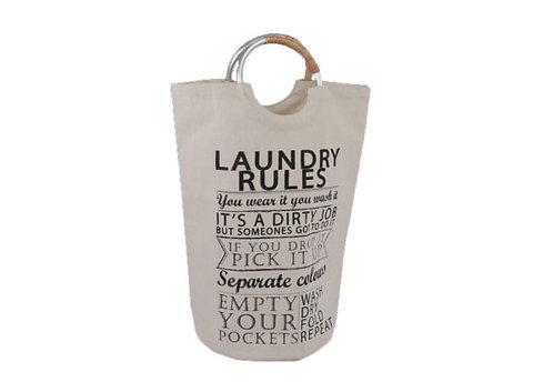 Metal Handle Laundry Bag