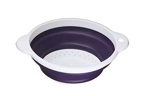 Colander, 20 cm - Purple/ White