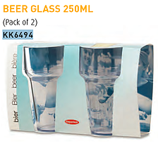 Beer Glass x 2
