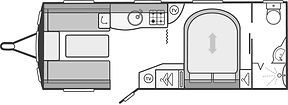 Floorplans-Caravans-Swift-Challenger Spo