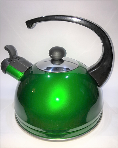 Lacquer Kettle 2L Green