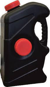Black 23 Litre Waste Water Jerry Can