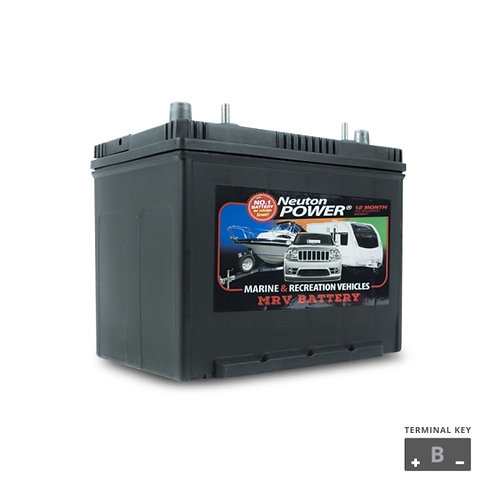 Deep Cycle Crown Battery 90amp 12V