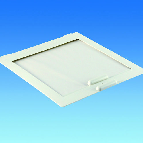 420/430 Flynet with Roller Blind - White