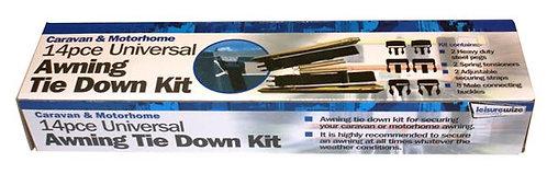 Universal Awning Tie Down Kit - 14 piece