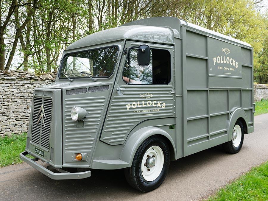 Pollocks Van