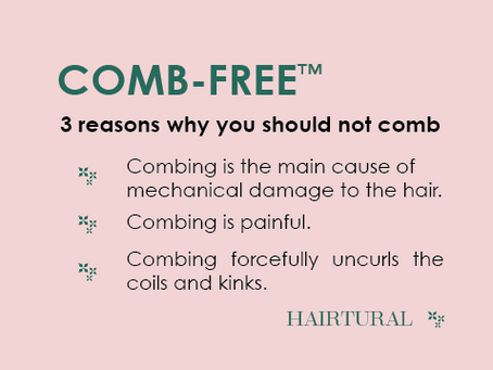 3 Reasons Why You Should Not Comb Your Natural Hair