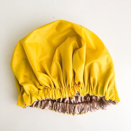 Satin-lined Shower Cap