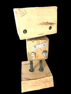 Les petits robots en bois