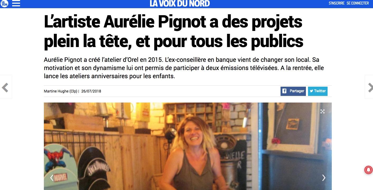 article La Voix Du Nord Juillet 2018