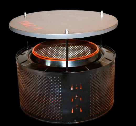 Table tambour de machine