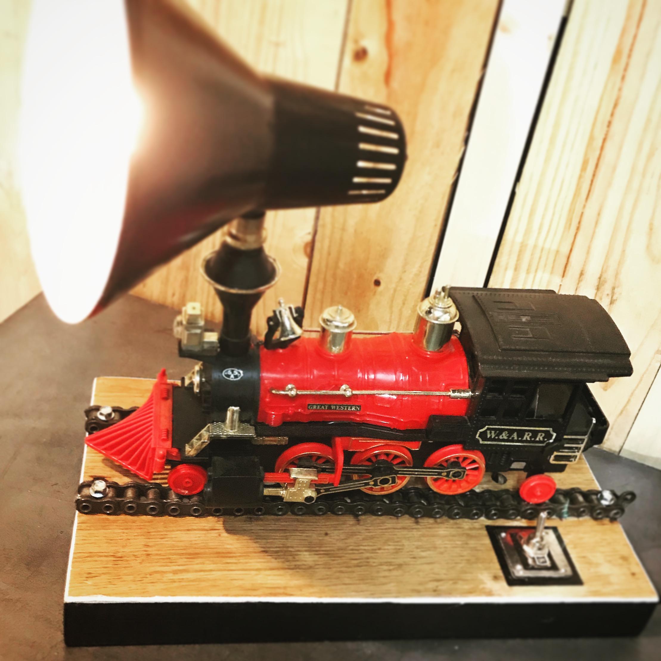 Lampe Train
