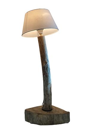 Lampe Bois flottée et chêne massif