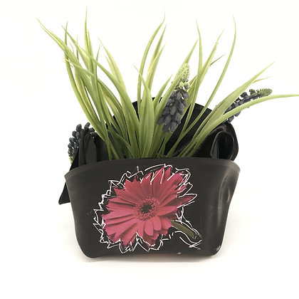Vide poche fleurs