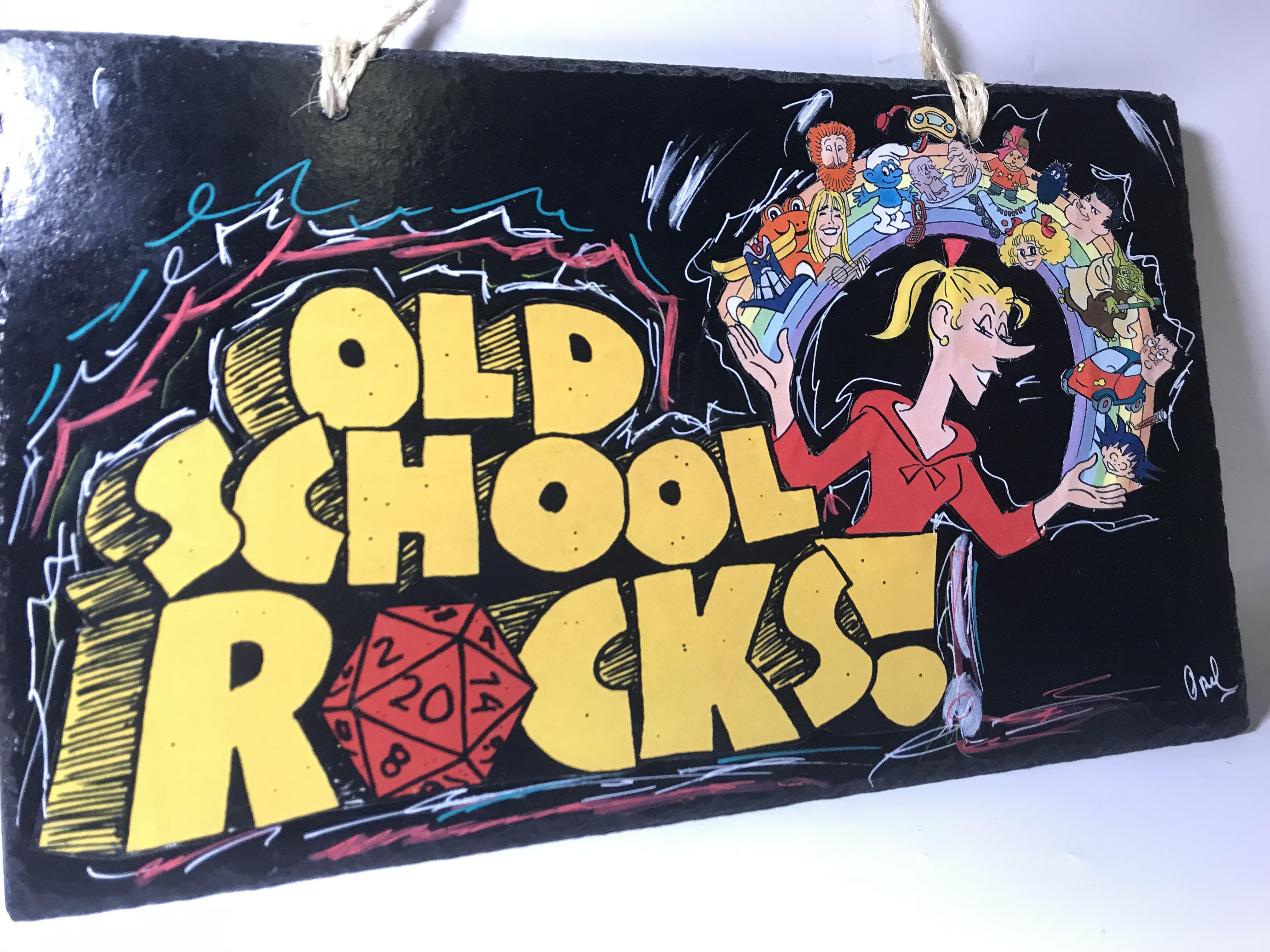Ardoise Old school