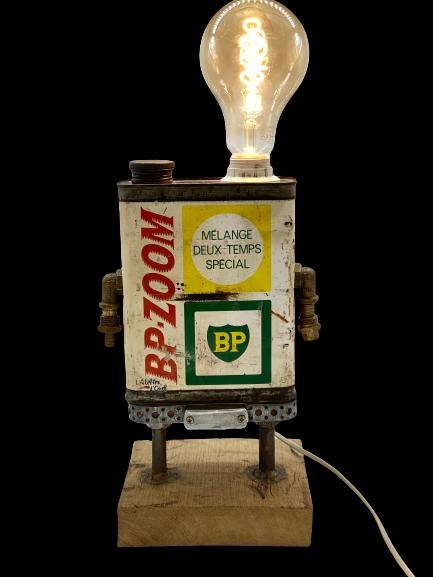 Lampe bidon