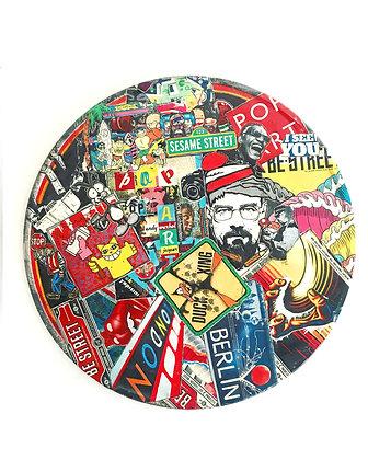 Panneau Street art