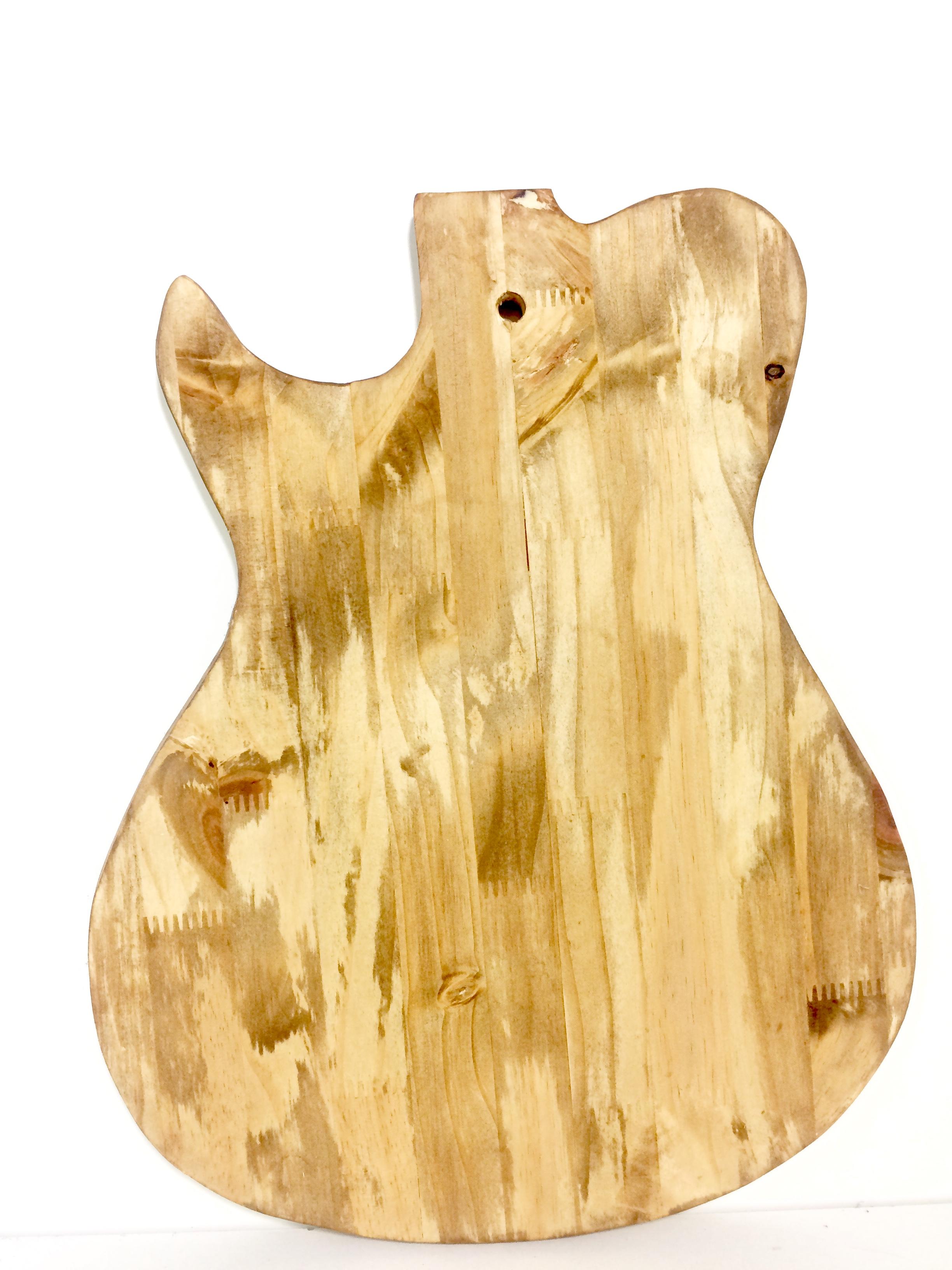 Planche à apéro Guitare