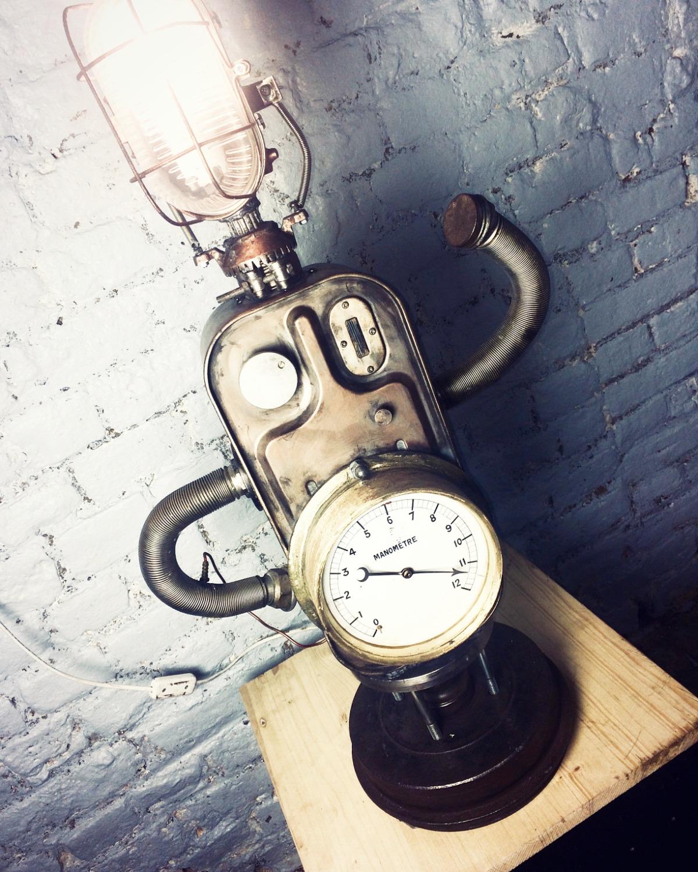 Lampe Manomètre