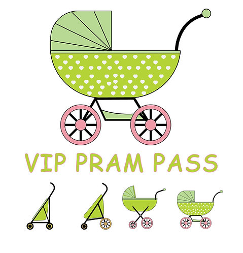 VIP pram pass, Southampton Sunday April 24th 2022
