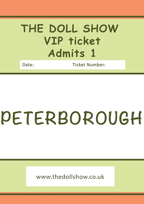 VIP PETERBOROUGH (OCT) 11/10/20