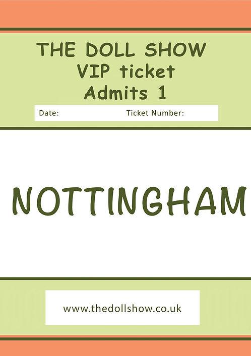 VIP NOTTINGHAM (MARCH) 15/03/20