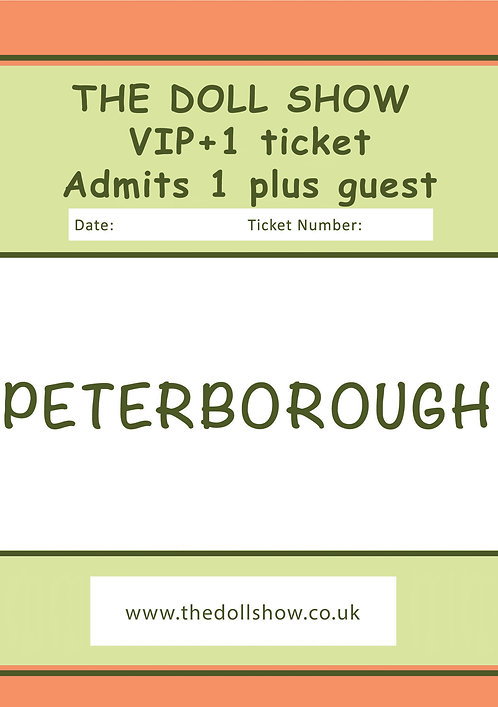 VIP +1 PETERBOROUGH (OCT) 11/10/20