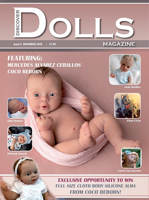 Issue 5 Discover Dolls Magazine