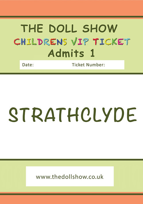 CHILDRENS VIP STRATHCLYDE (JULY) 07/07/19