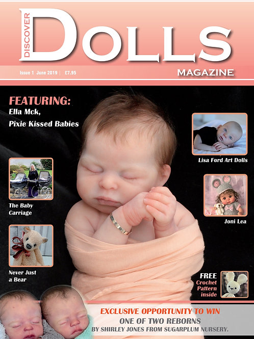 Issue 1 Discover Dolls Magazine
