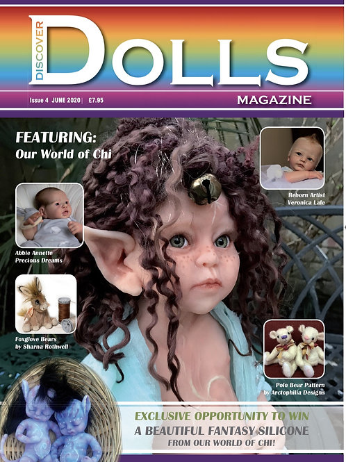 Issue 4 Discover Dolls Magazine