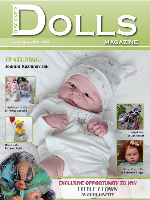 Issue 3 Discover Dolls Magazine