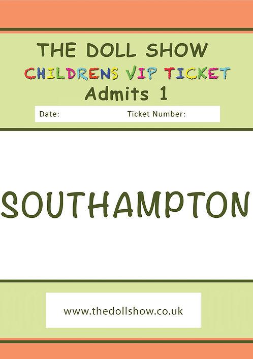CHILDRENS VIP Southampton (MAY) 19/05/19