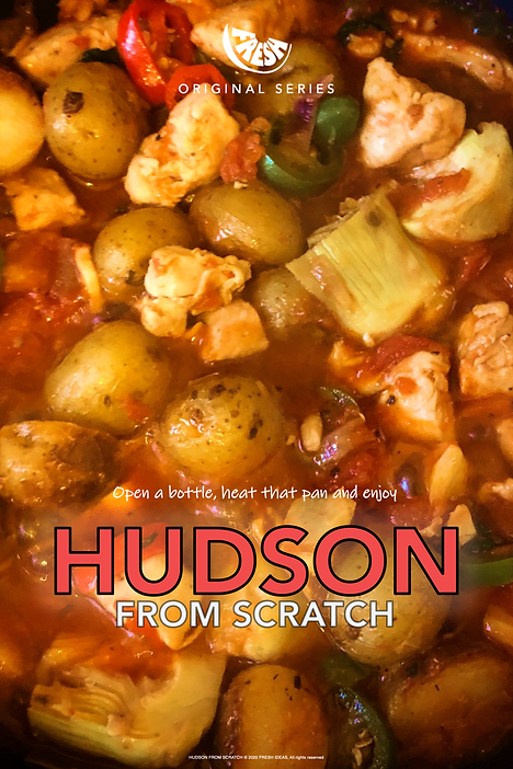 Hudson From Scratch Official Poster 2.pn