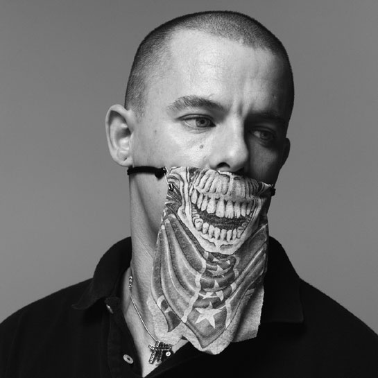 Alexander McQueen as a skeletor