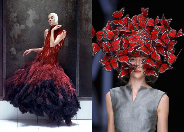Aexander McQueen fashion show