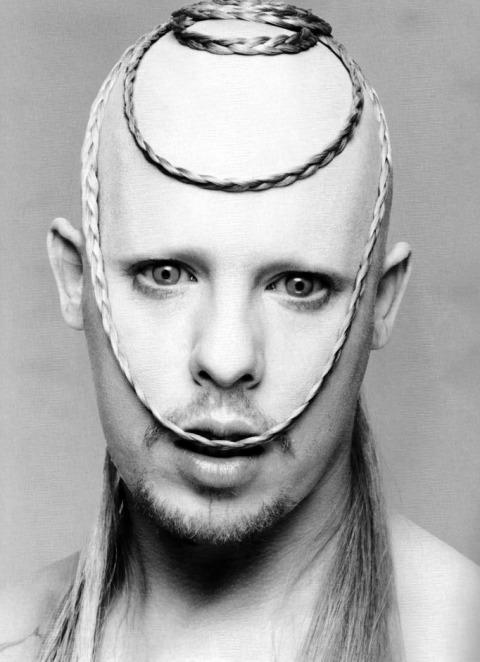 Alexander McQueen as an albinos