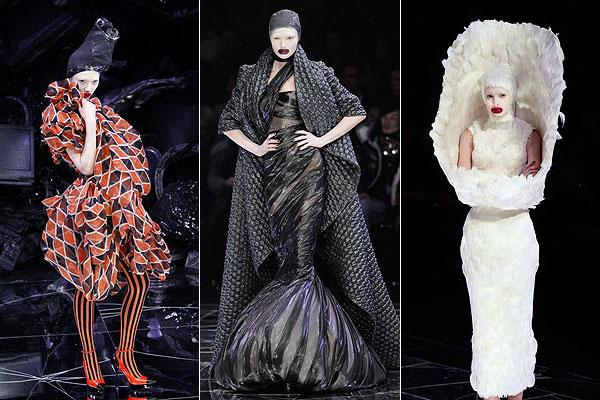 three icons from Alexander McQueen m