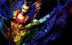 Alexander McQueen butterflies dress