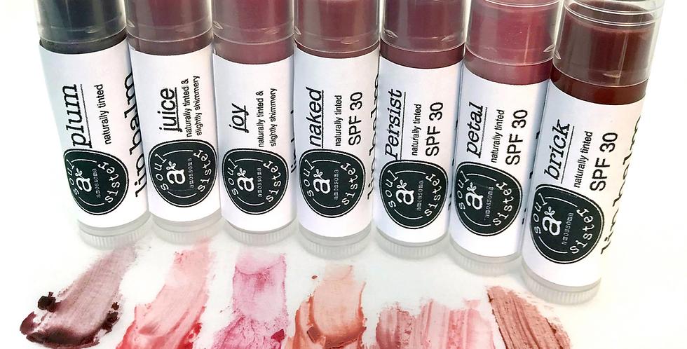 soul sister tinted lip balm  0.2oz tube