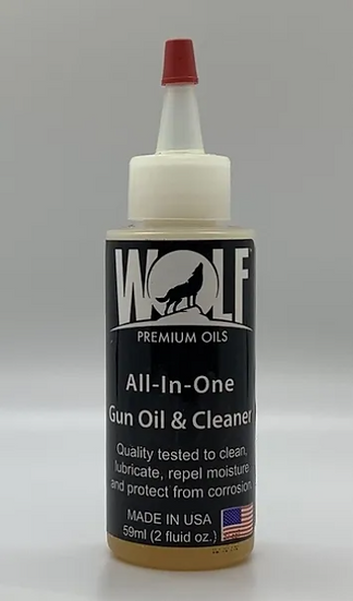 Wolf Premium All-In-One Gun Oil and Cleaner