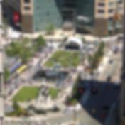 Espaços públicos, parques, praças, urbanismo