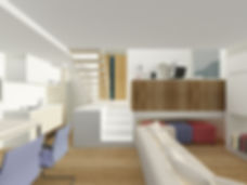 Design de interiores - Casa Cubo