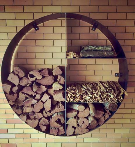 Custom Firewood Storage