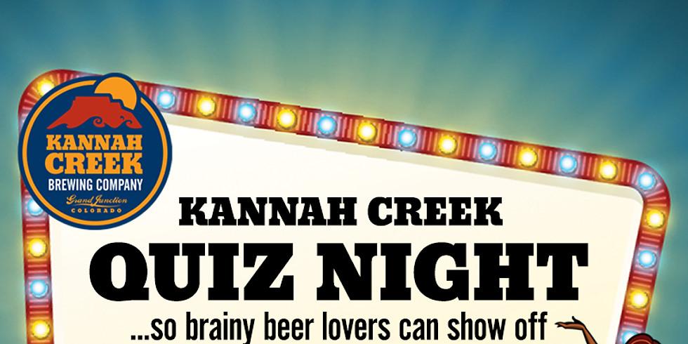 Kannah Creek Quiz Night