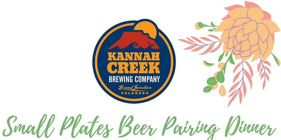 Small Plates Beer Pairing Dinner